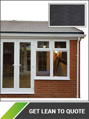 Lean to solid Roof Conservatory