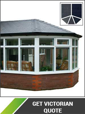 victorian solid roof conservatory